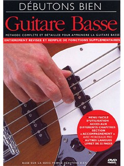 Débutons Bien: La Basse (DVD) DVDs / Videos | Bass Guitar