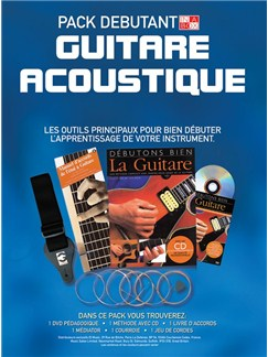 In A Box Pack Débutant: Guitare Acoustique Books, CDs and DVDs / Videos | Acoustic Guitar