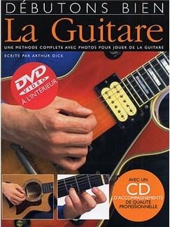 Débutons Bien: La Guitare (Livre/CD/DVD) Books, CDs and DVDs / Videos | Guitar