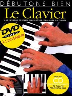 Débutons Bien: Le Clavier (Livre/CD/DVD) Books, CDs and DVDs / Videos | Keyboard
