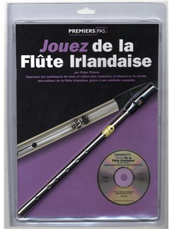 Jouez De La Flute Irlandaise - Book/CD/Instrument Books, CDs and Instruments | Melody Line, Lyrics & Chords, Pennywhistle