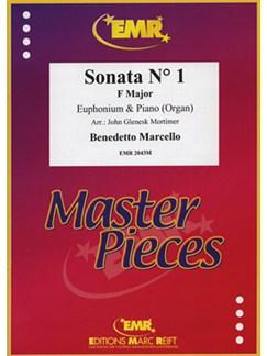 Benedetto Marcello: Sonata No.1 In F (Euphonium) Books | Euphonium, Piano Accompaniment