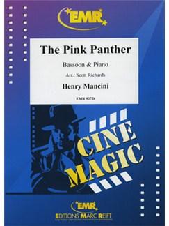 Henry Mancini: The Pink Panther - Bassoon Books | Bassoon, Piano Accompaniment