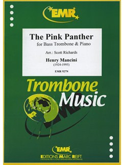 Henry Mancini: The Pink Panther - Bass Trombone Books | Bass Trombone, Piano Accompaniment