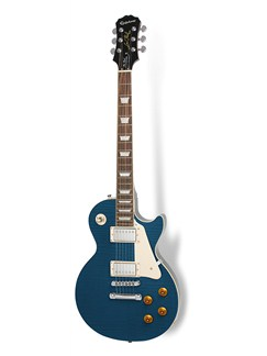 Epiphone: Les Paul PlusTop Pro Electric Guitar - Transparent Blue Instruments | Electric Guitar