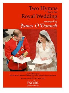 Two Hymns From The Royal Wedding Books | SATB, Organ Accompaniment
