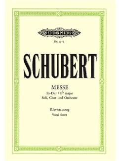 Franz Schubert: Mass In E Flat D.950 (Peters Edition) Books | SATB, Piano Accompaniment
