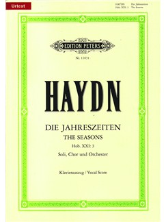 Joseph Haydn: The Seasons - German/English Vocal Score Books | Soprano, Tenor, Bass Voice, SATB, Piano Accompaniment