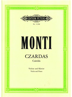 Vittorio Monti: Czardas - Urtext Books | Violin, Piano Accompaniment
