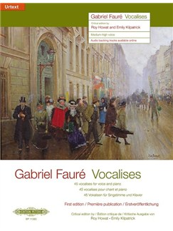 Gabriel Fauré: Vocalises - Medium-High Voice & Piano Books | Voice, Piano Accompaniment, Soprano, Tenor