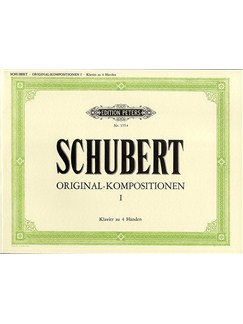Franz Schubert: Original-Kompositionen I (Piano 4 Hands) Books | Piano