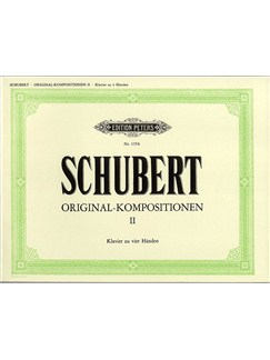 Franz Schubert: Original-Kompositionen II (Piano 4 Hands) Books | Piano