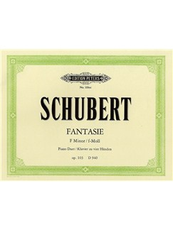 Franz Schubert: Fantasie In F Minor Op.103 Books | Piano Duet