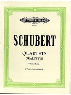 Franz Schubert: String Quartets Op.29/125 Complete - Volume 1 (Parts) Libro | Cuarteto de Cuerda