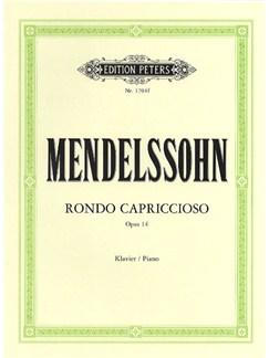 Felix Mendelssohn: Rondo Capriccioso Op.14 Books   Piano