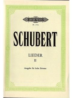 Franz Schubert: Lieder II Books | High Voice, Piano Accompaniment