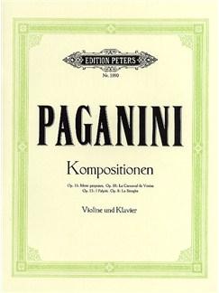 Niccolo Paganini: Selected Compositions For Violin And Piano Books | Violin, Piano Accompaniment