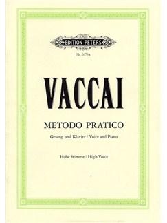 Nicola Vaccai: Metodo Pratico (High Voice) Books | High Voice, Piano Accompaniment