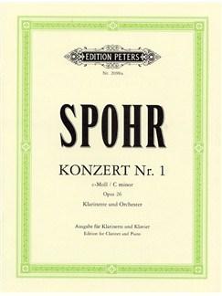 Louis Spohr: Clarinet Concerto No.1 In C Minor Op.26 (Clarinet/Piano) Books   Clarinet, Piano Accompaniment
