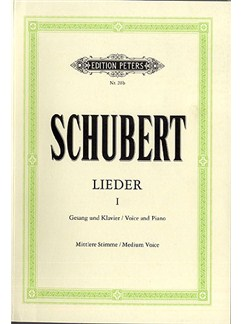 Franz Schubert: Lieder No. 1 (Medium Voice) Books | Medium Voice, Piano Accompaniment, Baritone Voice, Alto, Mezzo-Soprano