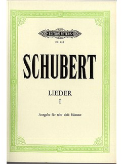 Franz Schubert: Lieder 1 - Very Low Voice Books | Low Voice, Piano Accompaniment, Bass Voice