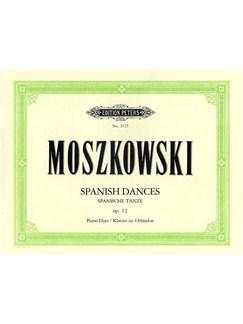Moritz Moszkowski: Spanish Dances Op.12 (Piano Duet) Books   Piano Duet