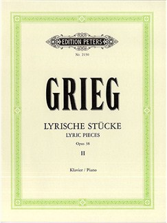 Edvard Grieg: Lyric Pieces - Book 2 (Peters Edition) Books | Piano