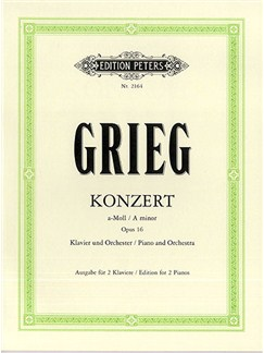 Edvard Grieg: Concerto In A Minor Op.16 For Piano Duet Books | Piano Duet