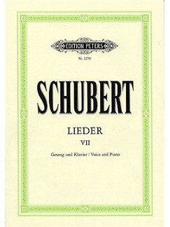 Franz Schubert: Lieder Volume 7 Books | Voice, Piano Accompaniment