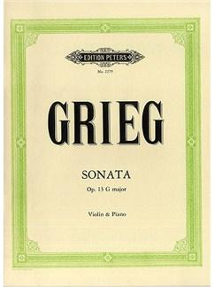 Edvard Grieg: Sonata No.2 In G Op.13 Books   Violin, Piano Accompaniment