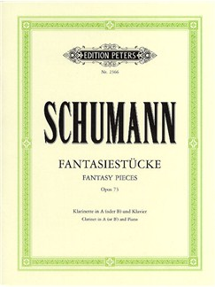 Robert Schumann: Fantasy Pieces Op.73 (Clarinet/Piano) Books | Clarinet, Piano Accompaniment