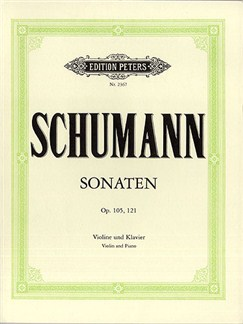 Robert Schumann: Sonaten Op.105 And Op.121 Books | Violin, Piano Accompaniment