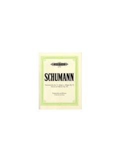R. Schumann: Fantasy Pieces Op.73 / Adagio & Allegro Op.70 / Pieces in Folk Style Op.102 Books | Cello, Piano Accompaniment