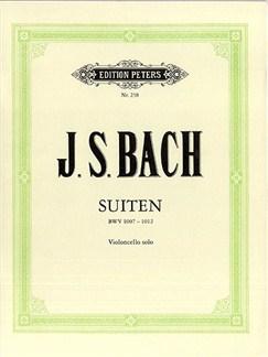 J.S. Bach: 6 Suites Cello And Piano (ed. Becker) Books | Cello, Piano Accompaniment