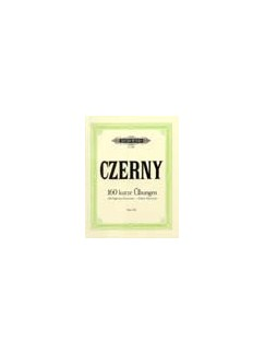 Carl Czerny: 160 Eight-Bar Exercises Books | Piano