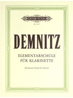 Friedrich Demnitz: Elementary School For Clarinet Bog | Klarinet