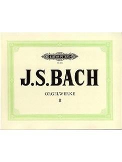 J.S. Bach: Organ Works Vol.2 (Peters Edition) Books | Organ
