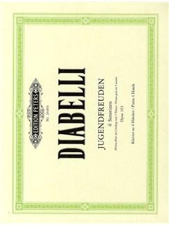 Anton Diabelli: Jugendfreuden - 6 Sonatinen Op.163 Books | Piano Duet