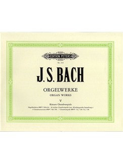 J.S. Bach: Organ Works, Volume 5 Libro | Órgano