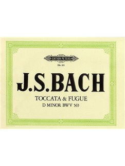 J.S. Bach: Toccata And Fugue In D Minor BWV 565 (Edition Peters) Books | Organ