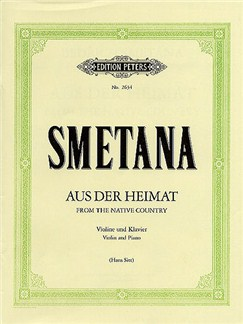Bedrich Smetana: Aus Der Heimat Books | Violin, Piano Accompaniment