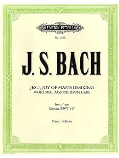 J.S. Bach: Jesu, Joy Of Man's Desiring Books | Piano