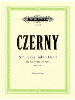 Carl Czerny: Studies For The Left Hand Op.399 Books | Piano