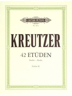 Rodolphe Kreutzer: Etudes For Violin Books | Violin