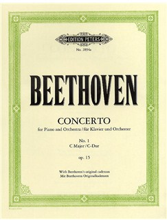 Ludwig Van Beethoven: Concerto For Piano And Orchestra No.1 In C Op.15 (2 Piano Score) Books | Two Pianos