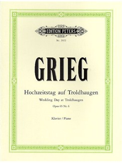 Edvard Grieg: Wedding Day At Troldhaugen Op.65 No.6 Books | Piano