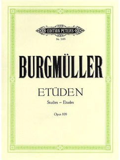 Friedrich Burgmuller: Studies For Piano Op.109 Books | Piano