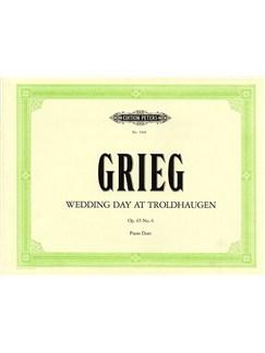 Edvard Grieg: Wedding Day At Troldhaugen Op.65 No.6 (Piano Duet) Books | Piano Duet