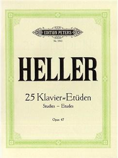 Stephen Heller: 25 Etuden Op.47 Books | Piano
