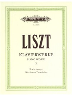 Franz Liszt: Piano Works Volume 10 Books | Piano
